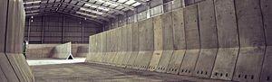 prémur en béton préfabriqué / de fondations / pour dalle de béton de plancher