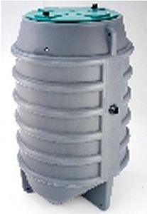 cuve aérienne / de traitement des eaux usées / en acier