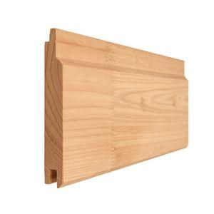 bardage en bois massif / en bois de feuillus / en bois lamellé-collé / en iroko