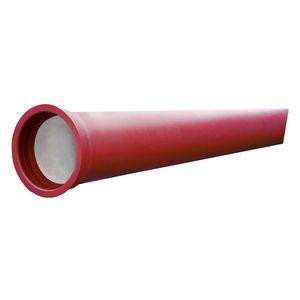 canalisation en fonte / enduite polyuréthane