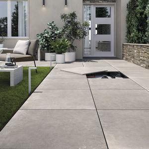 carrelage d'extérieur / au sol / en grès cérame / carré