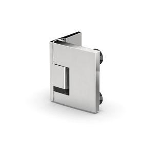 charnière pour porte en verre / de douche / en zamak / avec système d'auto-fermeture