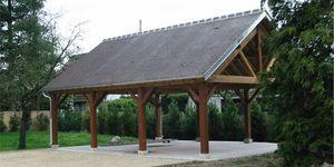 abri de jardin en bois / contemporain / résidentiel