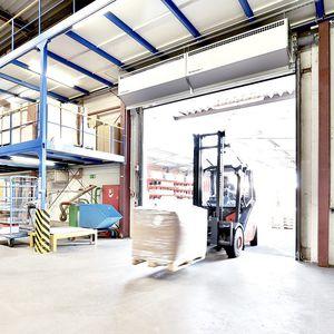 rideau d'air mural / professionnel / industriel