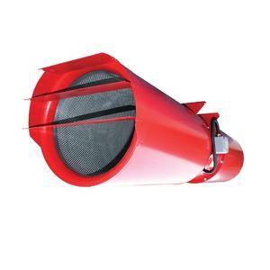 ventilateur extracteur de désenfumage / axial / au plafond / professionnel