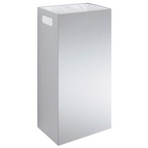poubelle de salle de bain / murale / en inox / en polypropylène