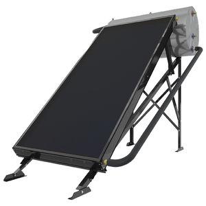 chauffe-eau solaire / à poser / horizontal / en thermosiphon