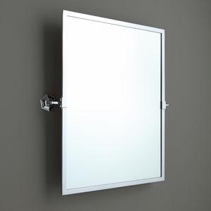 miroir de salle de bain mural / basculant / de style / rectangulaire