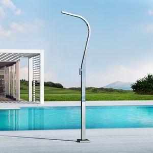 douche d'extérieur de piscine / multifonction / pour parc aquatique / classique