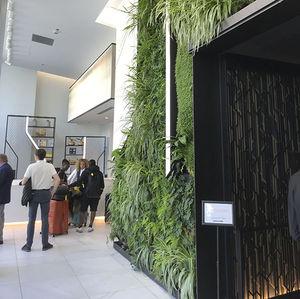 mur végétal en panneau modulaire