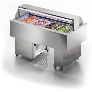 buffet réfrigéré central