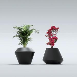 jardinière en polyéthylène / conique / en hauteur / sur mesure