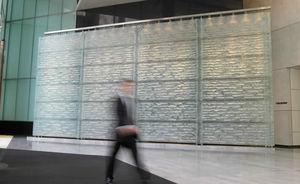 panneau décoratif en verre / mural / pour agencement intérieur / pour aménagement extérieur