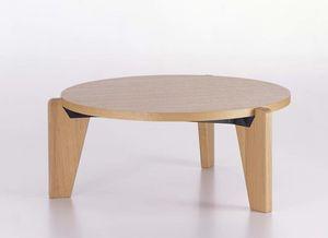 table basse contemporaine / en chêne / en bois massif / en noyer américain