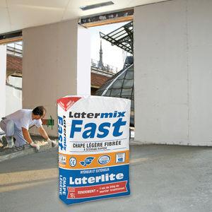 chape à séchage rapide / légère / d'argile expansé / en ciment