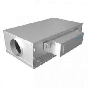 ventilateur extracteur / au plafond / professionnel / en acier galvanisé