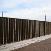 mur anti-bruit avec panneau modulaire