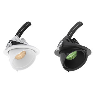 downlight à encastrer / de plafond / à LED / rond