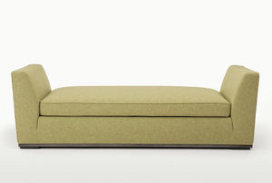 banquette contemporaine / en tissu / par Antonio Citterio / beige