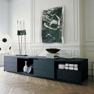 buffet contemporain / en bois massif / par Antonio Citterio
