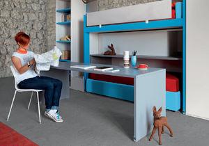 bureau en stratifié / contemporain / avec lit gigogne / pour enfant