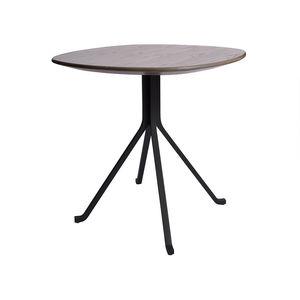 table bistrot contemporaine / en stratifié / en acier / en pierre