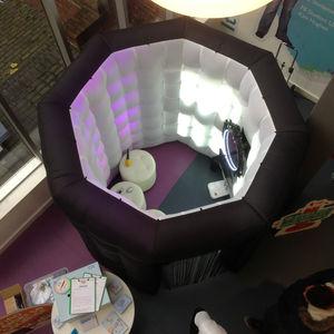 structure gonflable pour bureau