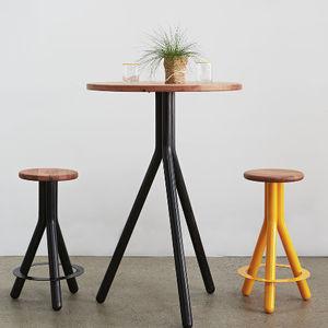 tabouret de bar design minimaliste