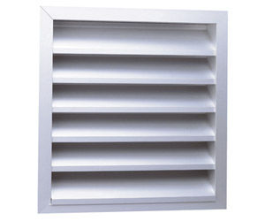 grille de ventilation en aluminium anodisé