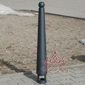 borne de protection / en fonte / pour parking