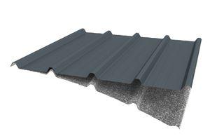 couverture de toit en tôle d'acier