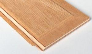 panneau contreplaqué de construction / en bois / pour porte