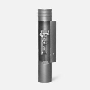 borne anti-stationnement / de distribution électrique / de distribution d'eau / en acier