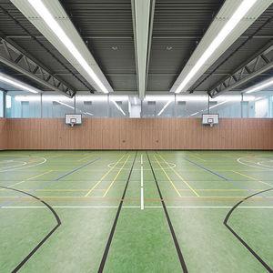 sol sportif en linoléum / d'intérieur / pour salle multisport / pour athlétisme