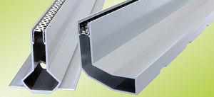 caniveau en aluminium
