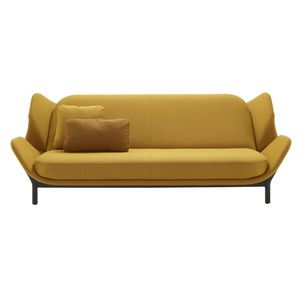 canapé lit / contemporain / en tissu / 2 places