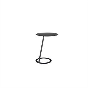 table d'appoint contemporaine / en acier inoxydable / en acier laqué / en aluminium laqué