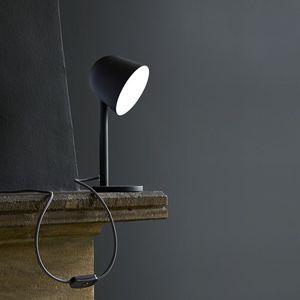 lampe de table / contemporaine / en métal / à LED