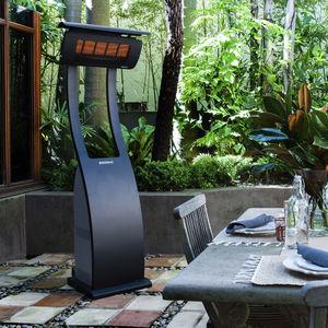chauffage de terrasse infrarouge au sol / à poser / à gaz / portable
