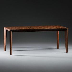 table contemporaine / en chêne / en noyer / en cerisier