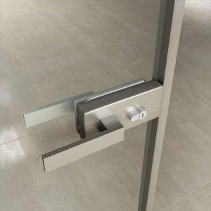 serrure mécanique / pour porte en verre / résidentielle / pour bureau