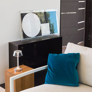lampe de table / contemporaine / en aluminium / en PMMA
