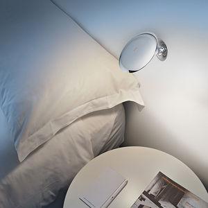 applique murale contemporaine / en métal / à LED / ronde
