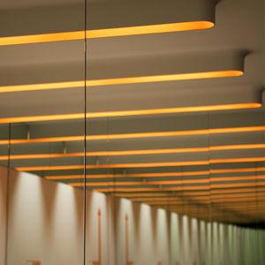 profil éclairant encastrable / au plafond / fluorescent / résidentiel