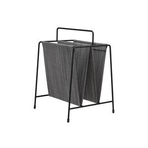 porte-revues contemporain / résidentiel / en acier à revêtement par poudre / en tissu