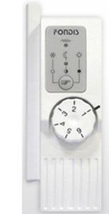 thermostat mécanique / mural / pour chauffage