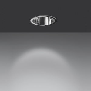 downlight encastrable au plafond / à LED / fluorescent / rond