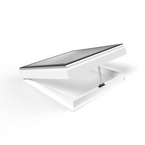 lanterneau pour toiture / avec costière / en verre