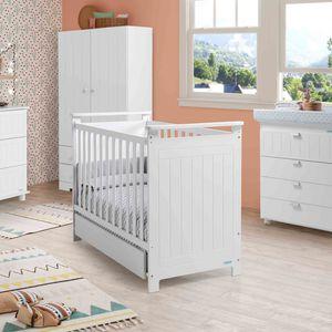lit pour bébé contemporain / pour enfant (unisexe) / en bois laqué / 120x60 cm