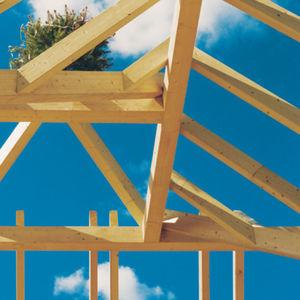 charpente de toiture en bois